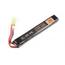 Li-Po 1300mAh 7.4V 25C Battery - Stick
