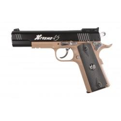 Xtreme 45 Pistol Replica - Half-Tan